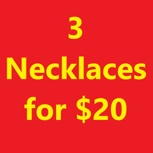 Jewelry - Choose 3 Necklaces for $20